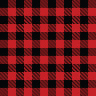 Craftables Printed Heat Transfer Vinyl Buffalo Plaid Print