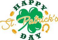 Free Happy St. Patrick's Day SVG Cut File