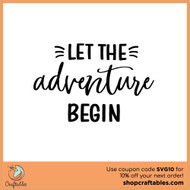 Free Let The Adventure Begin SVG Cut File