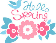 Free Spring Time SVG Cut File