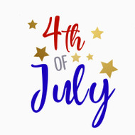 Free 4th of July SVG Cut File