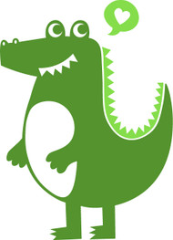 Free Alligator SVG Cut File