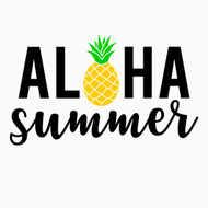 Free Aloha Summer SVG Cut File