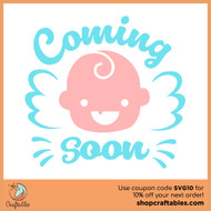 Free Coming Soon SVG Cut File