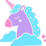 Free Cute Unicorn SVG Cut File