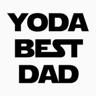 Free Yoda Best Dad SVG Cut File
