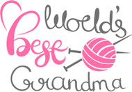 Free World's Best Grandma SVG Cut File