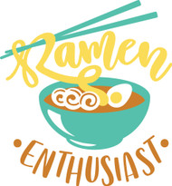 Free Ramen Enthusiast SVG Cut File