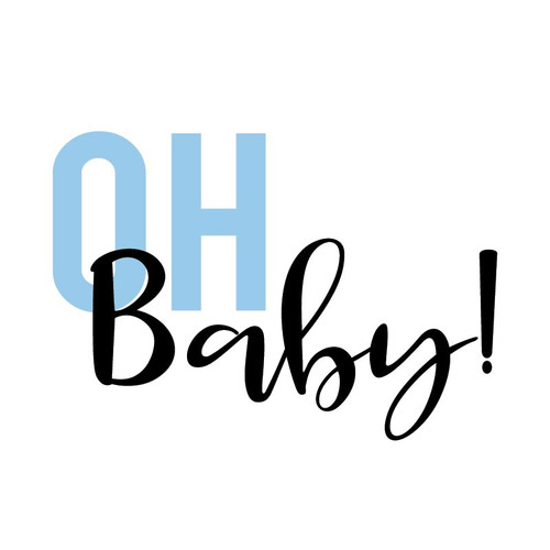 Free Oh Baby SVG Cut File