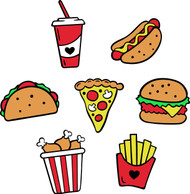 Free Junk Food SVG Cut File