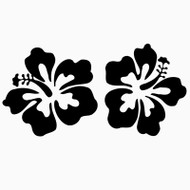 Free Hibiscus SVG Cut File