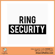 Free Ring Security SVG Cut File