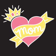 Free Mom Heart SVG Cut File