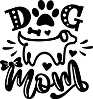 Free Dog Mom SVG Cut File