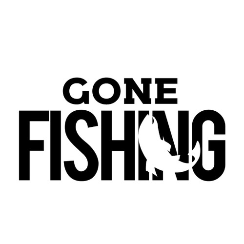 Free Gone Fishing SVG Cut File