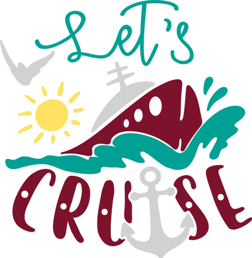 Free Let's Cruise SVG Cut File