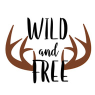 Free Life is Wild and Free SVG Cut File
