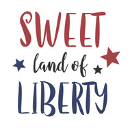 Free Sweet Land of Liberty SVG Cut File