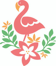 Free Cute Flamingo SVG Cut File