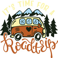Free It's Time for a Roadtrip SVG Cut File