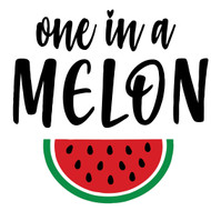 Free One in a Melon SVG Cut File
