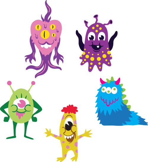 Free Monsters SVG Cut File