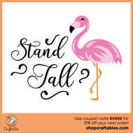 Free Stand Tall SVG Cut File