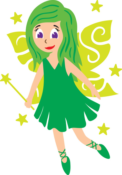 Free Fairy SVG Cut File
