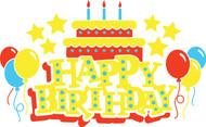 Free Happy Birthday SVG Cut File