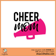 Free Cheer Mom SVG Cut File
