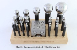 Doming Set 20PC 3-38mm