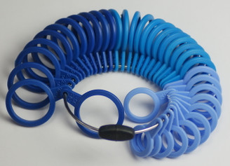 Plastic Ring Sizers UK British Sizes