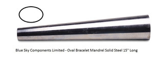 Bracelet Mandrel Oval Profile