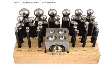 Doming Block And Punch Set 25 Piece