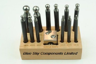 Doming Block And Punch Set 13 Piece