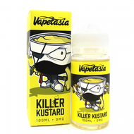 Vapetasia Killer Kustard 100ML E-Juice is a mix of vanilla and custard, reaching a perfect harmony of sweet and savory flavored e-juice. 70/30 VG:PG