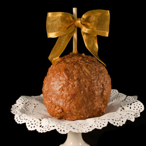 German Chocolate Caramel Apple by DeBrito Chocolate Factory