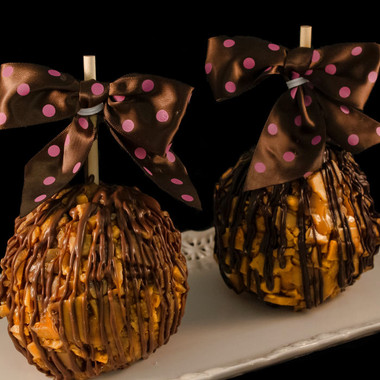 Toffee Caramel Apple from DeBrito Chocolate Factory