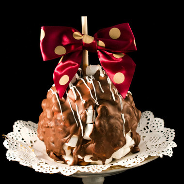 Rocky Road Caramel Apple from DeBrito Chocolate Factory