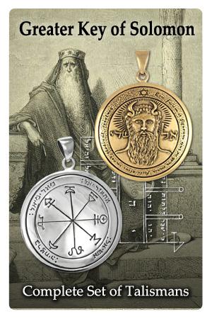 key of solomon talismans
