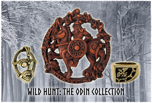 Odin Statues and Norse Viking Asatru Jewelry