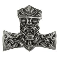 Pewter Mammen Style Thors Hammer Pendant