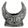Pewter Mini Crescent Moon Candle Holder