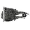 Pewter Raven Belt Buckle