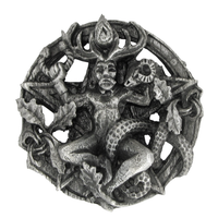 Pewter Cernunnos Belt Buckle