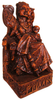 Seated Frigga Statue