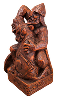 Seated Tyr Statue