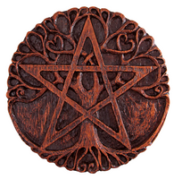 Tree Pentacle Plaque
