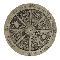 Wheel of the Year Plaque