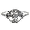 Sterling Silver Tree Pentacle Bracelet